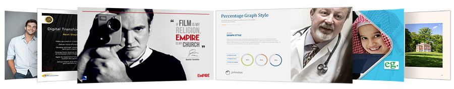 Expert powerpoint slides by a professional designer
