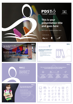 How to create a powerpoint template design